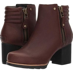 New Sorel Danica Bootie Brown Leather